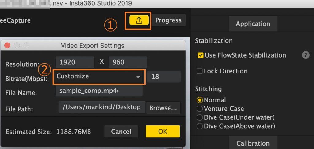 拡張子insvがInsta360 Playerでスムーズに再生できない
