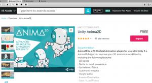 Unity3D+Anima2Dチュートリアル